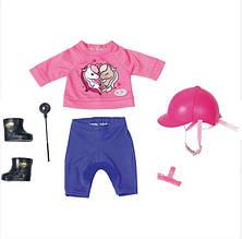 Одежда для куклы Беби Борн Baby Born эксклюзивный костюм для верховой езды Zapf 827772