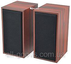 Компьютерные деревянные колонки 2.0 FT-101 Red Wooden (2820)