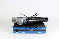 Беспроводной микрофон х2 шт DM EW 100