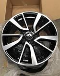 Диски Renault Megane Duster Scenic R16 Black, фото 2
