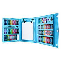 Набор для детского творчества в чемодане из 208 предметов Blue (3712)