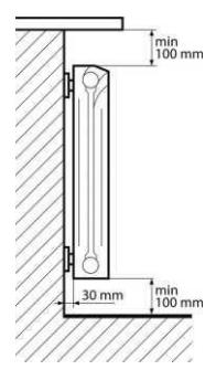 Монтаж отопительного радиатора Leonardo