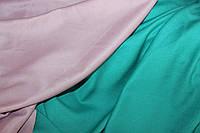 Ткань подклад трикотажный , бирюза (1,5 м ширина)