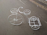 Велосипед для цветов ( кованый ) 80*80