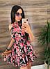Платье (Фабричный Китай ) Ткань шлифований шёлк Размер 42/44 ,44/46.Разные цвета (6437), фото 5