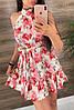 Платье (Фабричный Китай ) Ткань шлифований шёлк Размер 42/44 ,44/46.Разные цвета (6437), фото 2