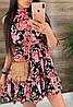 Платье (Фабричный Китай ) Ткань шлифований шёлк Размер 42/44 ,44/46.Разные цвета (6437), фото 6