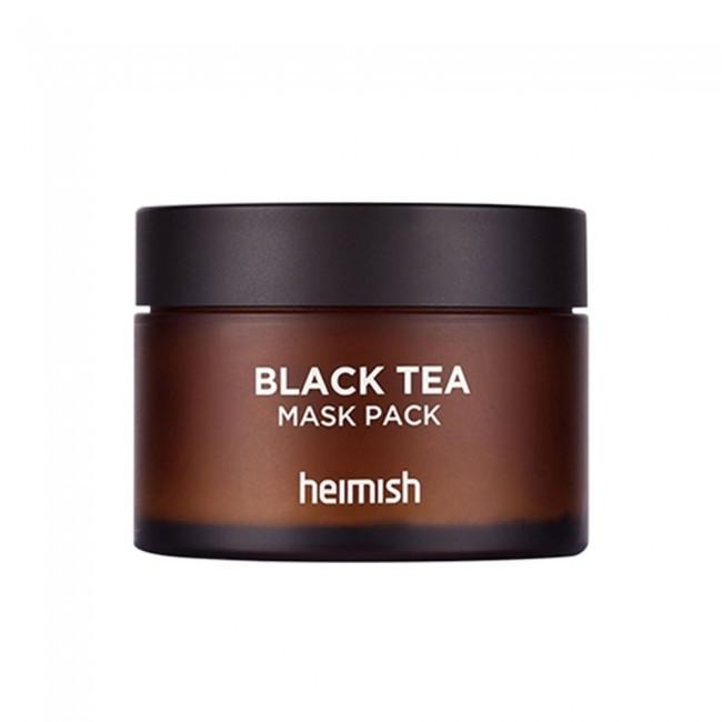 Маска успокаивающая восстанавливающая с черным чаем Heimish Black Tea Mask Pack, 110 мл.