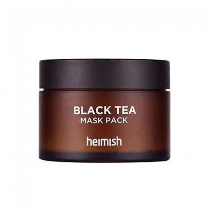 Маска успокаивающая восстанавливающая с черным чаем Heimish Black Tea Mask Pack, 110 мл., фото 2