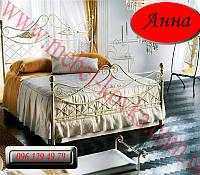 """Кованая кровать двуспальная """"Анна"""""""