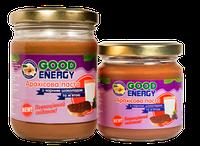 """Арахисовая паста (арахисовое масло) с черным шоколадом и мятой ТМ """"Good Energy"""""""