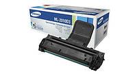 Картридж лазерный оригинальный Samsung ML-2010D3 для принтеров ML-2010 ML-2015 ML-2020 ML-2510 ML-2570 ML-2571