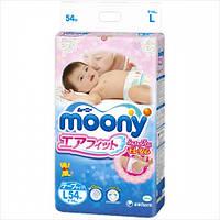 Moony Подгузники Air Fit L  9-14 кг, 54 шт (Disney) mp010