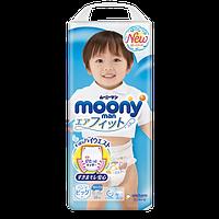 Moony подгузники – трусики Air Fit Big (12-22) кг, 38 шт. для мальчика (mp019)