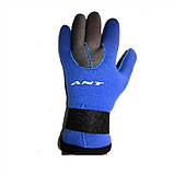 Неопреновые перчатки для дайвинга 3 мм ANT W-903, фото 3