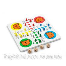 Настільна гра Viga Toys 2-в-1 Мозаїка і лудо (59990)