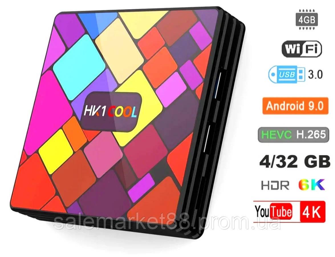 Смарт приставка Smart TV HK1 Cool 4GB/32GB Android 9.0