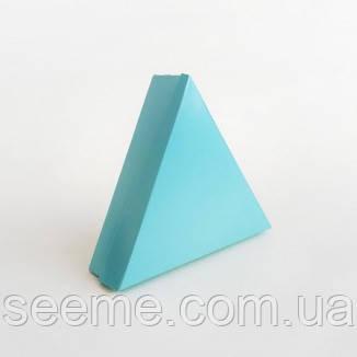 Коробка для 6 конфет 150х150х150х40 мм, цвет голубой