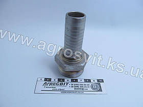 """Штуцер AG ORFS 1.11/16""""-12  (под шланг dу=32 мм.)"""