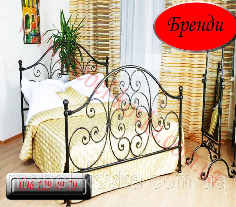 """Кованая кровать """"Бренди"""""""