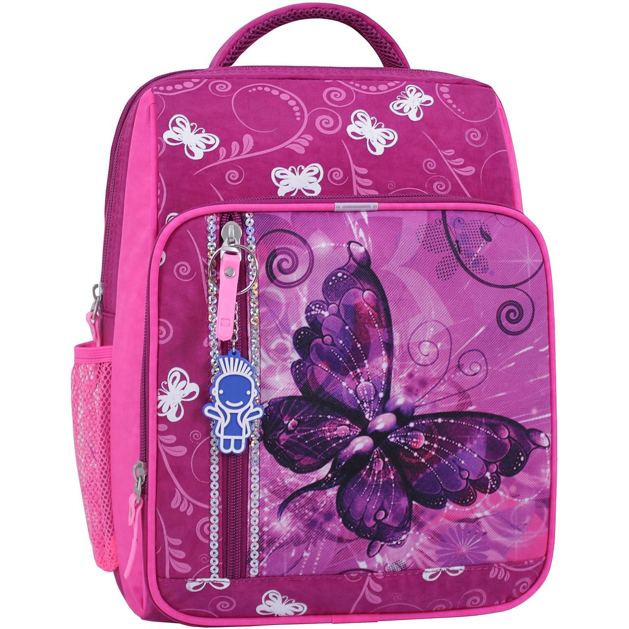Рюкзак школьный 8 л. 143 малиновый 615 (0012870)