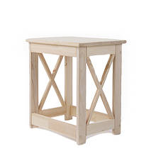 Декоративная деревянная табуретка серии MRAN1