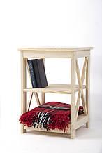 Прикроватный деревянный столик серии TRAN1