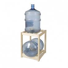 Деревянный стеллаж для бутылей DDK WT1