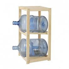 Деревянный стеллаж для бутылей DDK WT2