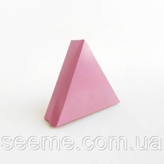 Коробка подарочная для 6 конфет 150х150х150х40 мм, цвет пыльный розовый