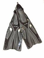 Ласты BS Diver GlideFin (закрытая калоша) 60 см размер 44-45 черные
