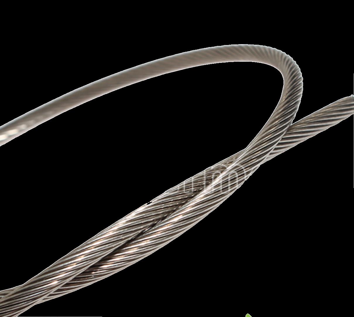 Трос нержавеющий для линий кормления Ø 5 мм
