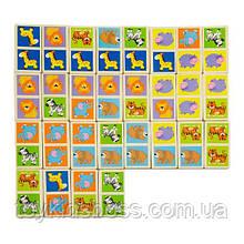 Настільна гра Viga Toys доміно Дикі тварини (51307)