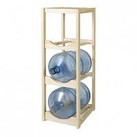 Деревянный стеллаж для бутылей DDK WT3