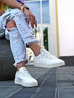 Кроссовки женские Adidas Samba белого цвета. Модные женские кроссовки Адидас белые., фото 1