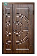Двери входные металлические  ПО-08 V Дуб темный Vinorit, 1200*2050 правая