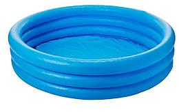Надувной детский бассейн Intex 58426 Синий кристалл, 147х33 см