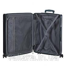 Средний пластиковый чемодан из поликарбоната зеленый Snowball 92103 Франция, фото 2
