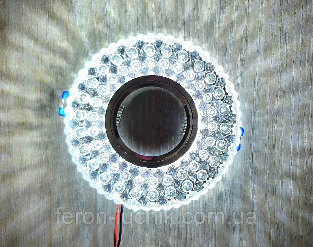 Встраиваемый светильник 2032 с LED подсветкой потолочный точечный