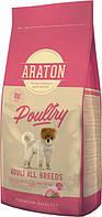 Araton Poultry Adult All Breeds - сухой корм для взрослых собак всех пород (с курицей), 15кг