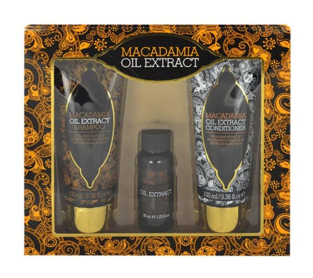 Подарочный набор Xpel Macadamia (100 мл шампуня, 100 мл кондиционера, 30 мл сыворотка)