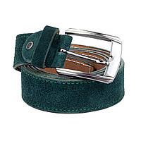 Ремень Woman's heel замшевый зеленый (Р-46-2)