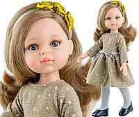 Кукла Карла в теплом платье Paola Reina, 32 см