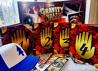 Гравити Фолз 1+2+3+4+ кепка (Gravity Falls)