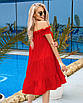 Женское платье Красный, фото 2