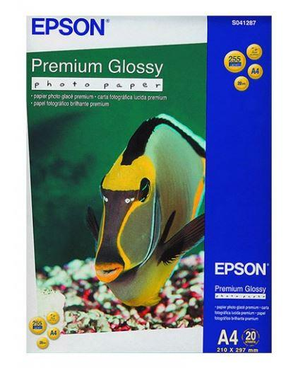 Фотобумага глянцевая Epson A4 Premium Glossy Photo Paper 20 листов