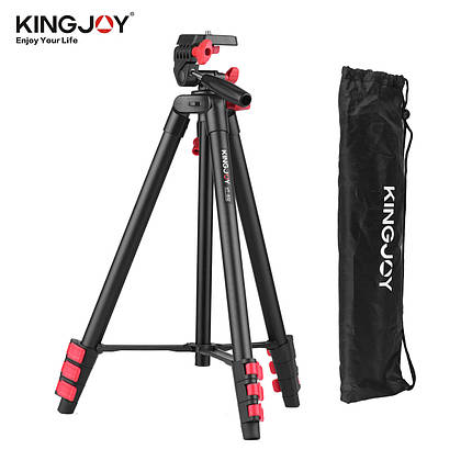 Видео штатив для фотоаппарат или телефона Kingjoy VT-832, фото 2