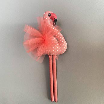 Фламинго Мягкая игрушка Розовый 46 см