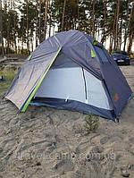 Палатка для любителей активного отдыха Green Camp с тамбуром
