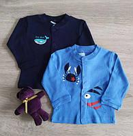 Кофта кардиган для новорожденных Краб Кашалот Польша Для немовлят, фото 1